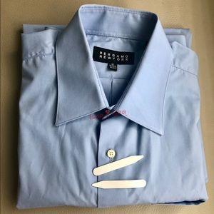 Bergamo New York Long Sleeve Dress Shirt M 15 32